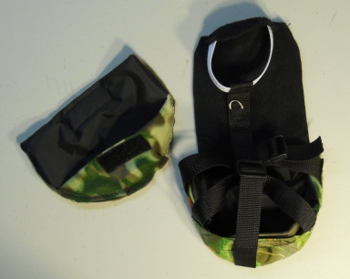 Fancy Camo Duck Diaper Holder  Harness 2
