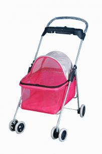 Pink Pet Baby Buggy